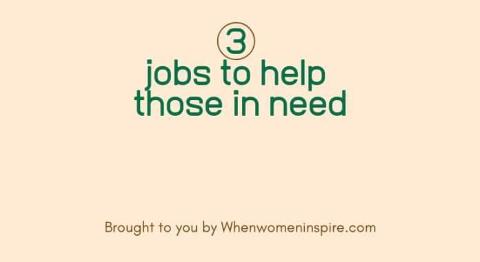 help the needy through work