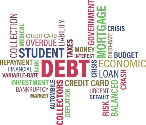 Mortgage, student loans, and other bills for a family