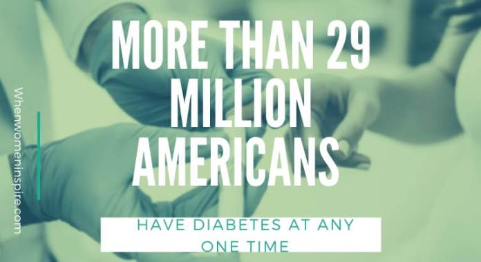 living with diabetes quote