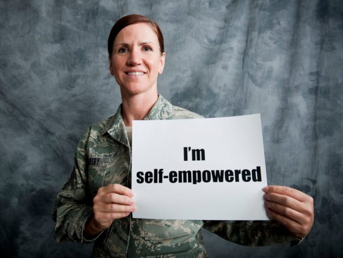 Let's empower ourselves, ladies!