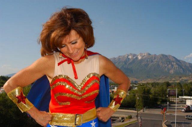 Wonder Woman symbolizes female strength