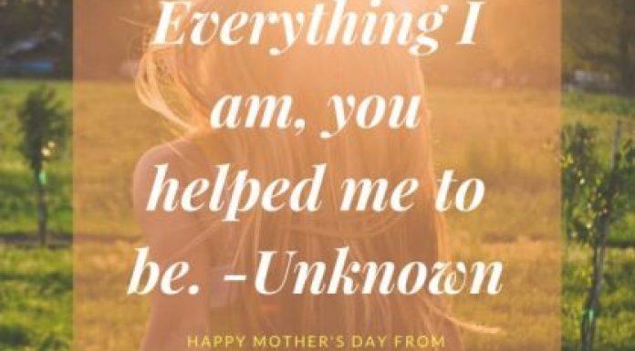 Show mom love