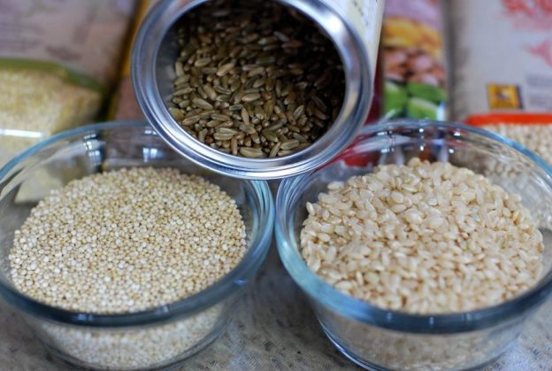 Quinoa is an excellent protein for vegetarian diet