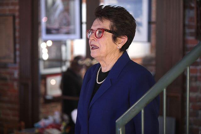 Feminist Billie Jean King