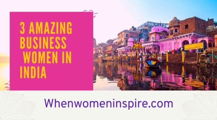 Business women in India spotlights