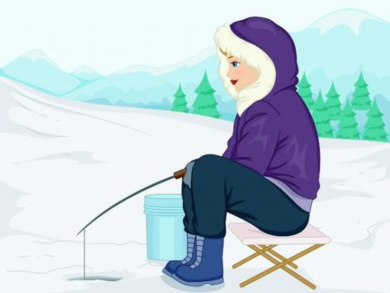 ice fishing for women