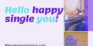 Happy single living