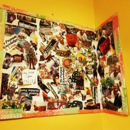 Photo Collage, an example of future work from AweSome AweTism Adventures Art Project