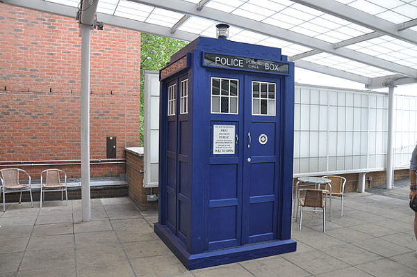 Tardis BBC Television Center is home to inspiring fiction