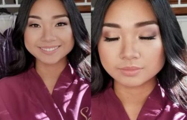 Get the best wedding makeup looks, like this one