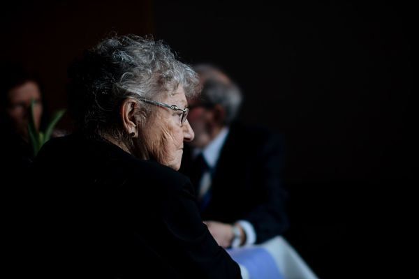 Home health aides can help older adults like the woman shown here.