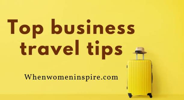 Business travel tips guide