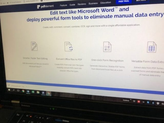 PDFelement Pro 6 review: Screenshot of top features