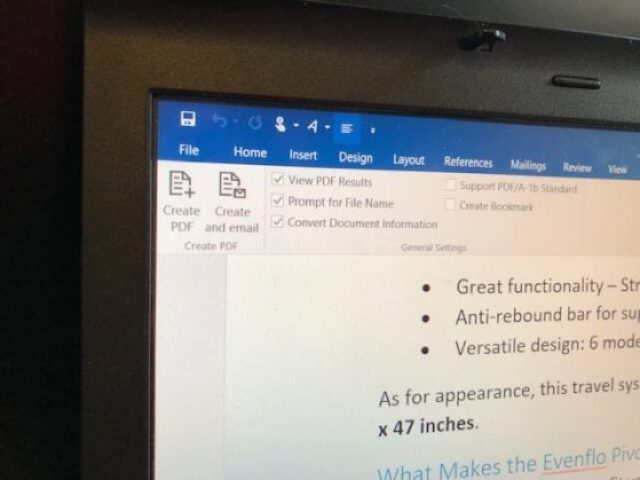 Create a PDF with PDFelement Pro 6 software