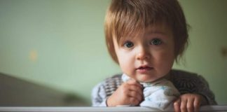 Child in the foster care system