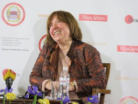 Women in Literature: Svetlana Alexievich