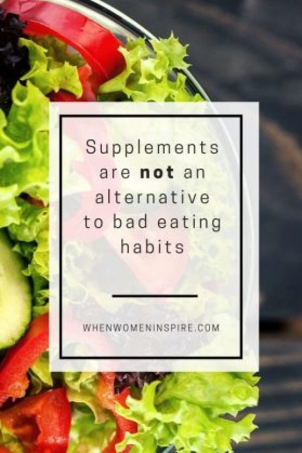 Dietary supplements quote