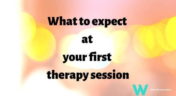 first therapy session