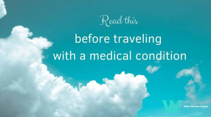 medical condition travel tips