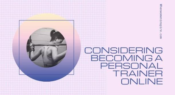 Being a personal trainer online
