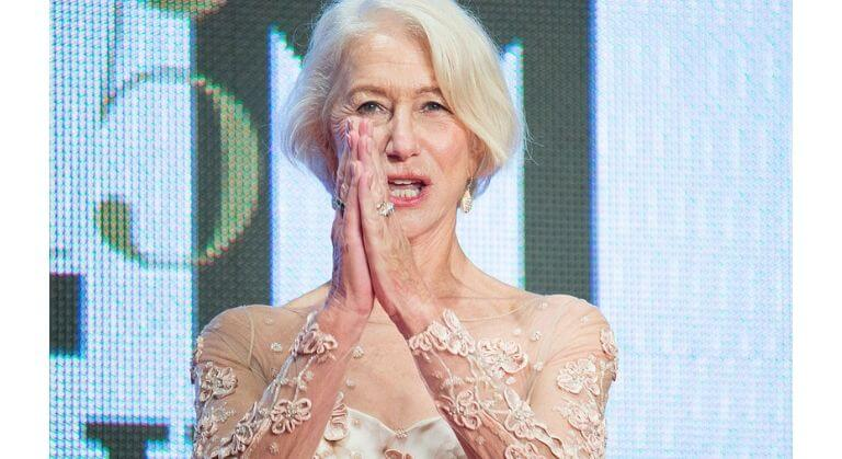 Helen Mirren on anti-aging