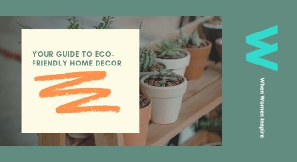 Eco-friendly home decorating
