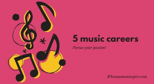 Music careers list