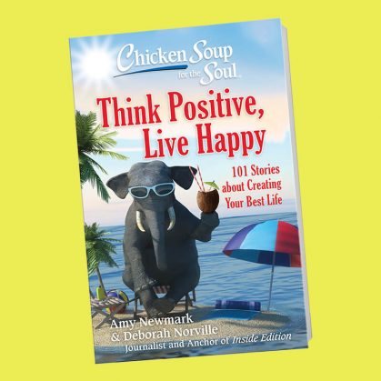 Think Positive, Live Happy book cover