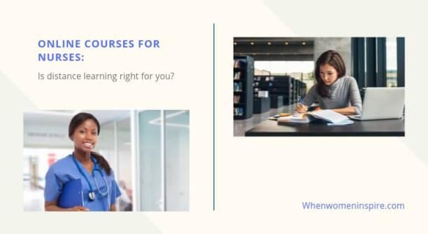 Online training courses for nurses