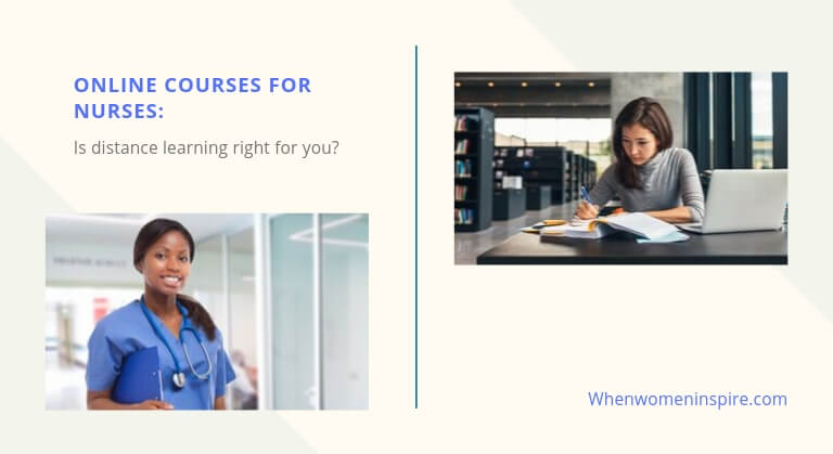 Online training courses for nurses