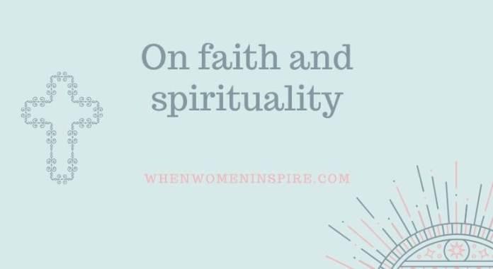 Faith and spirituality