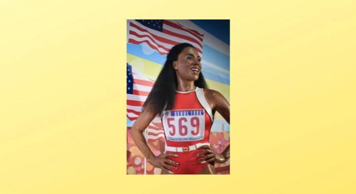 Flo-Jo inspires athletes