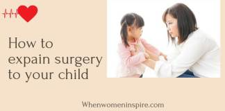 How to explain surgery to a child