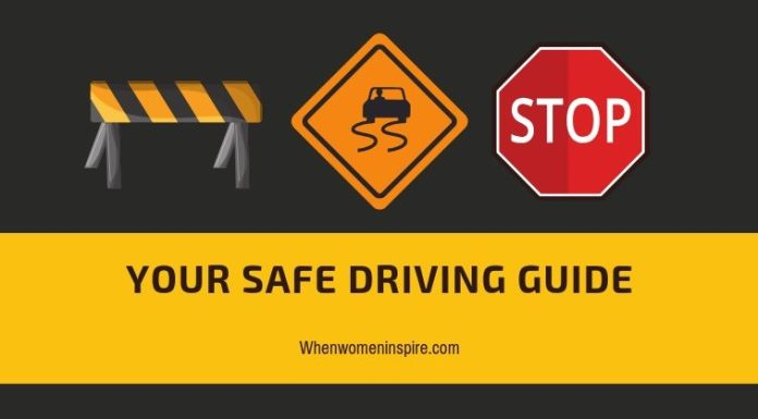 Safe driving guide