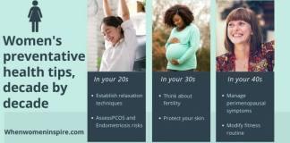 Women's preventative health tips