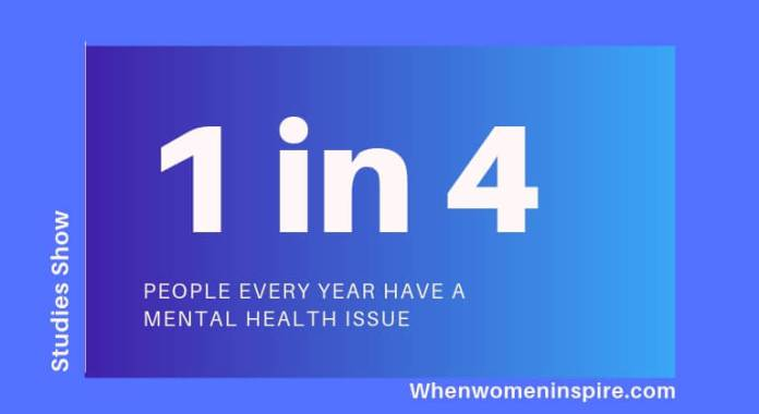 Looking after your mental health statistic