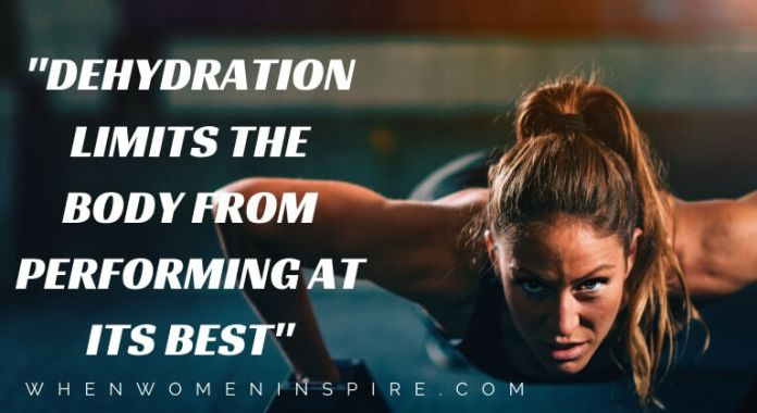 Dehydration quote