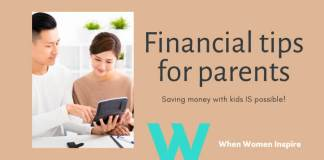 Financial tips for parents now