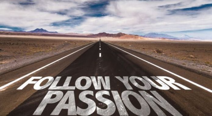 Start a business passionate about