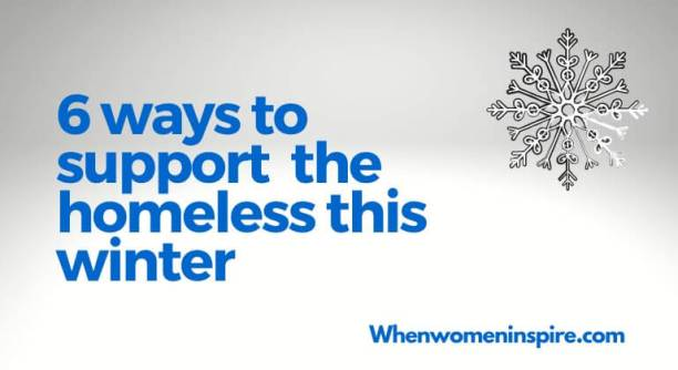 Support the homeless winter