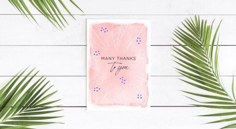 Printable gratitude cards for parents