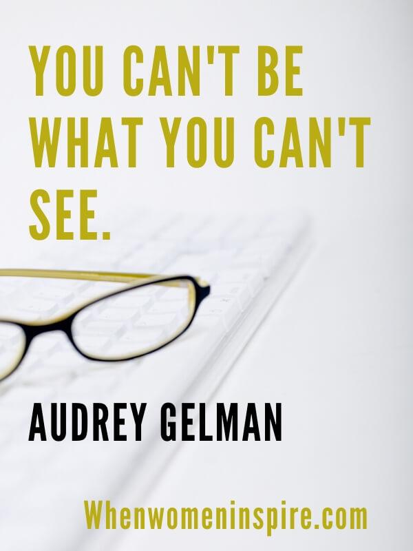 Audrey Gelman quote