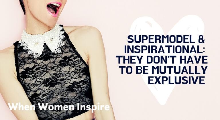 Supermodel Coco Rocha