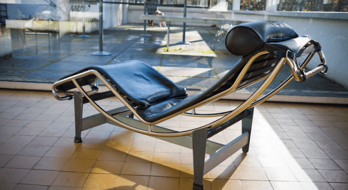 LC4 chaise-longue by Charlotte Perriand