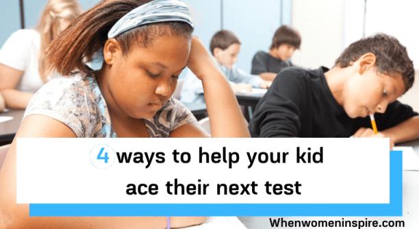帮助你的孩子更好地学习测试