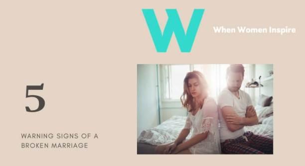 Signes de votre mariage est en train de s'effondrer