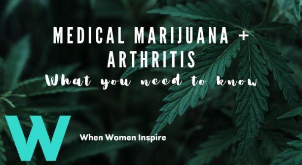 Medical marijuna for arthritis