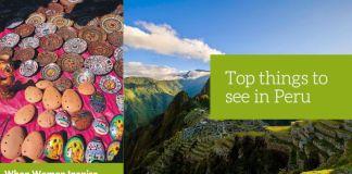 Things to see in Peru
