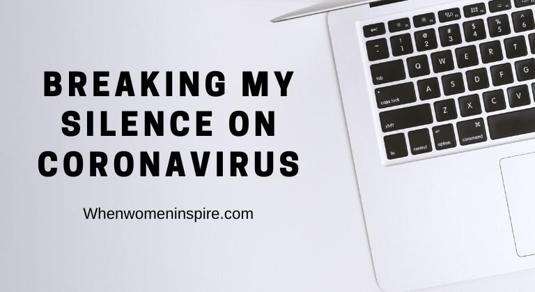 blogging about coronavirus