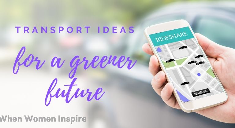 Ride share transport to go green
